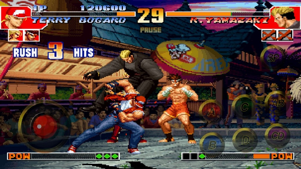 jogos clássicos The King of Fighters 97