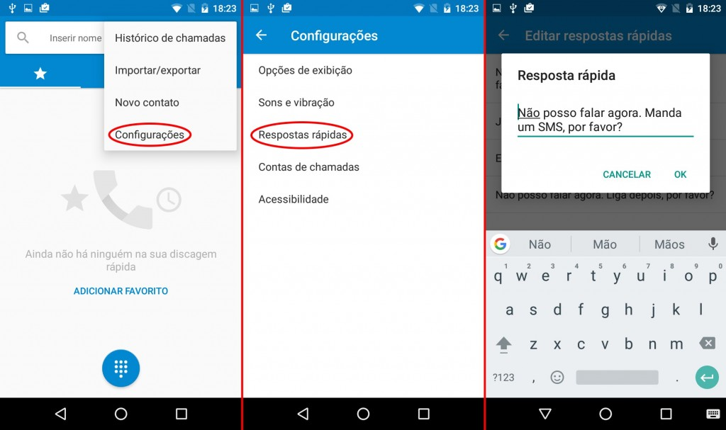 truques do Android respostas rapidas
